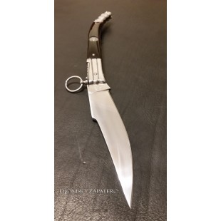 Navaja Francesa engraved