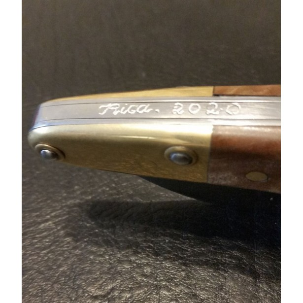 Navaja Paternera engraved