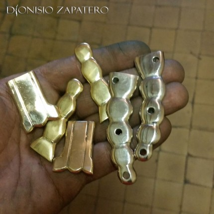 Navaja brass butts and bolsters