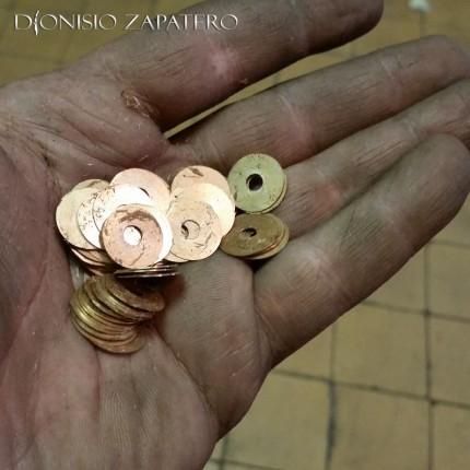 Handmade bronze washers