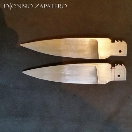 Blades for Sevillian navajas