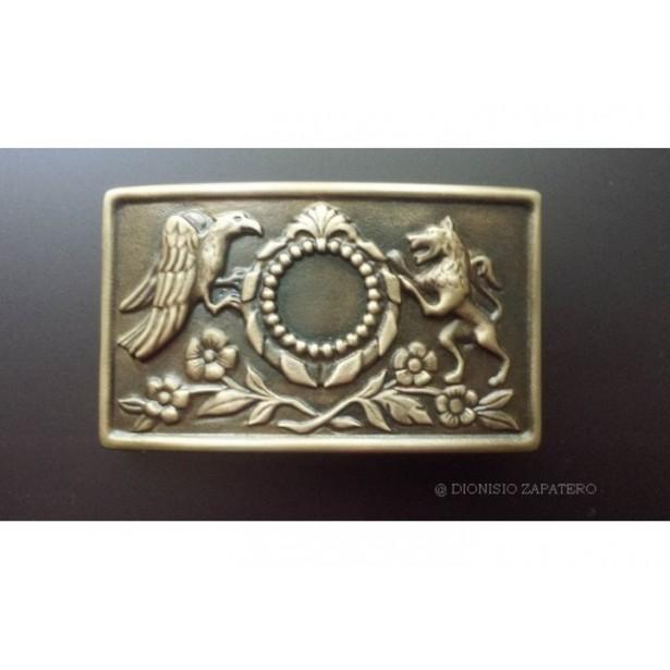 The Buckle of Salvatore Giuliano bronze