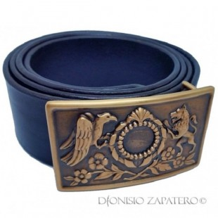 The Buckle of Salvatore Giuliano bronze