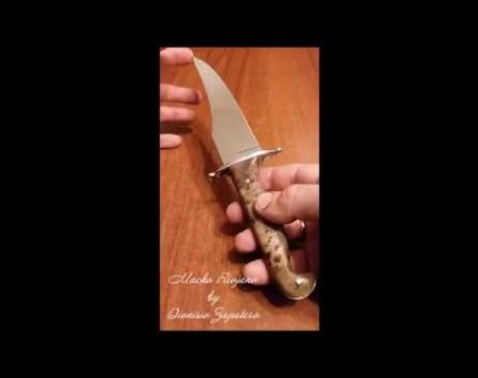 Macho Riojano Spanish hunting knife by Dionisio Zapatero